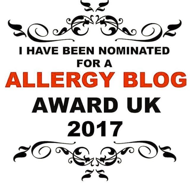 the UK allergy blog awards