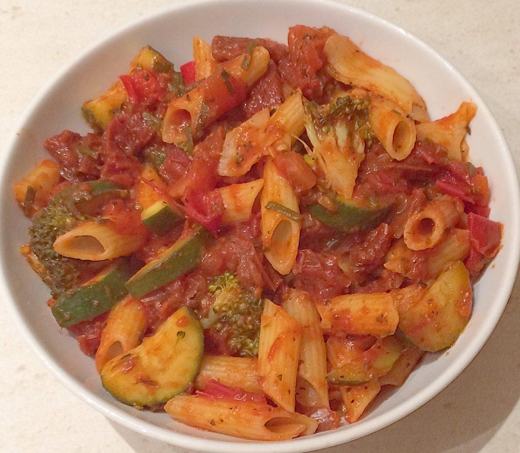 my 15 minute pasta recipe