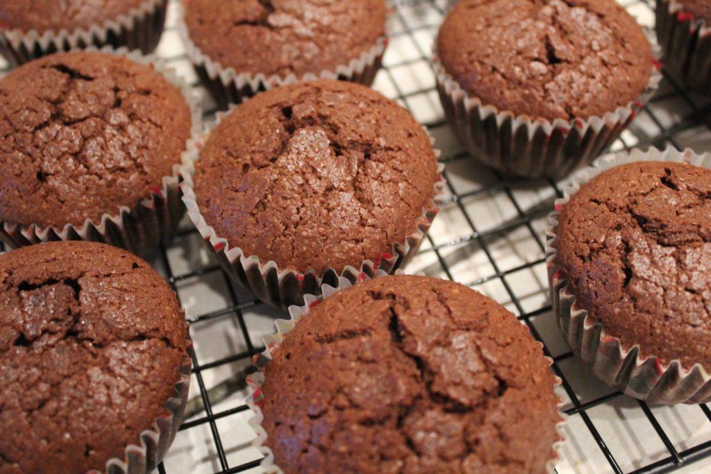 spiced chocolate orange cupcakes