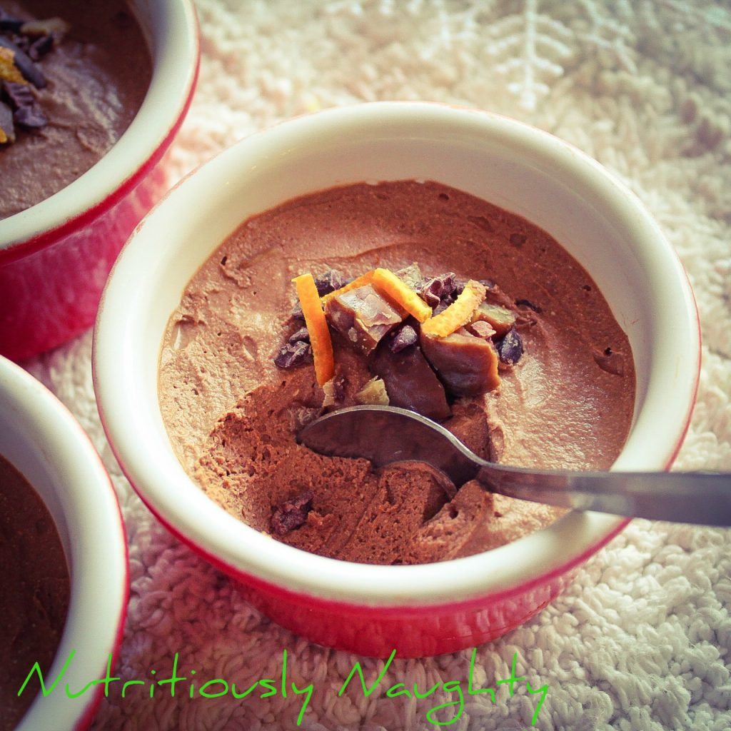 chestnut & chocolate mousses