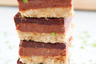 Chocolate & Lime Truffle Squares