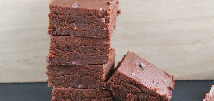 No-Bake Triple Chocolate Cookie Dough Squares