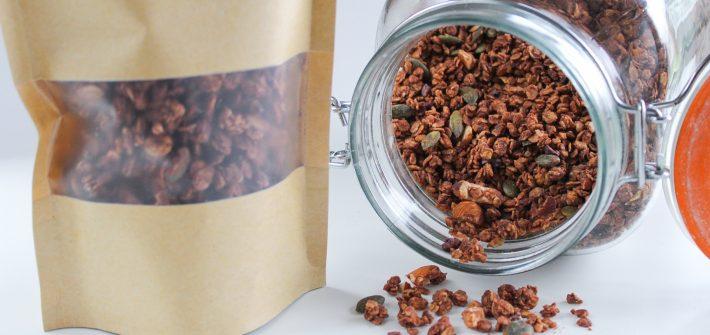 Crunchy Cacao Granola