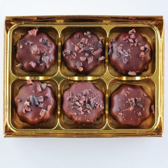 *orange crunch truffles